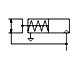 Paraller gripper - single acting NC pneumatic symbol